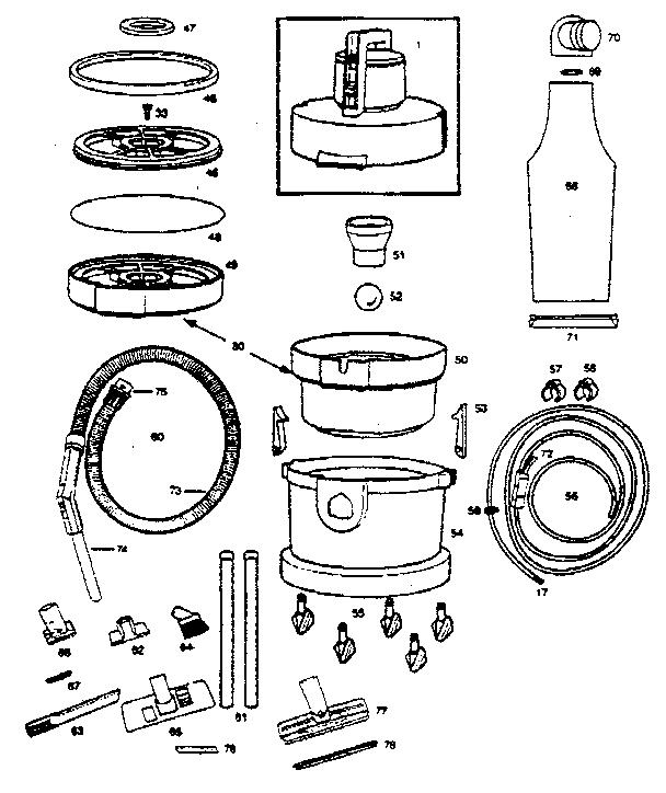 Vax model 221 power steamer genuine parts