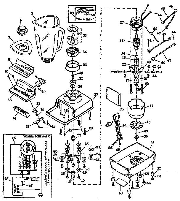 Kenmore model 66382327 blender genuine parts