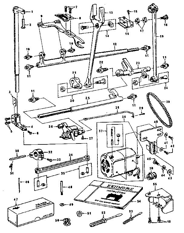 Kenmore model 14812071 mechanical sewing machines genuine