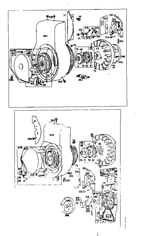 BRIGGS & STRATTON BRIGGS & STRATTON 4-CYCLE ENGINE-8