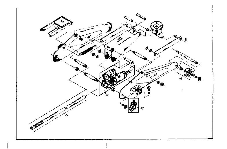 Craftsman model 214124901 jack hydraulic genuine parts