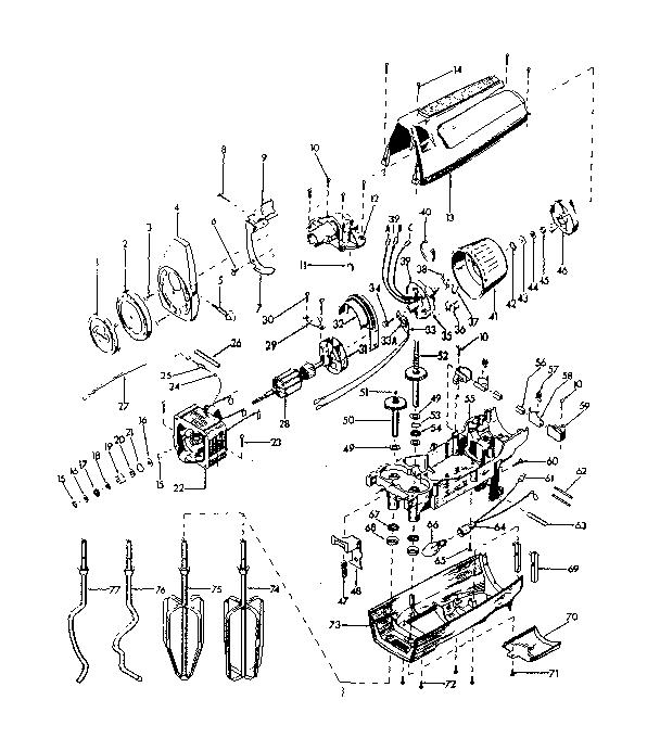 Kenmore model 663821800 mixer- hand genuine parts