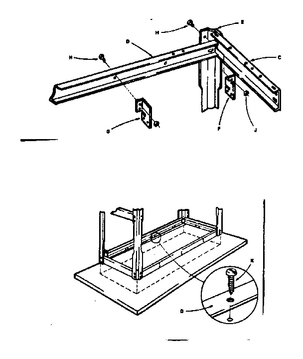 Craftsman model 706102670 workbench / project genuine parts