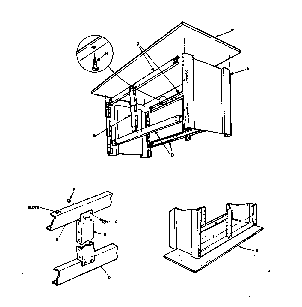 Craftsman model 70610381 workbench / project genuine parts