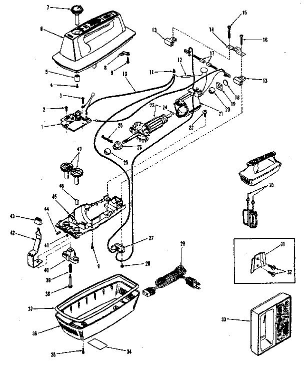 Kenmore model 400827100 mixer- hand genuine parts