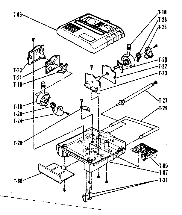 Sears model 636542030 radio/remote control toys genuine parts
