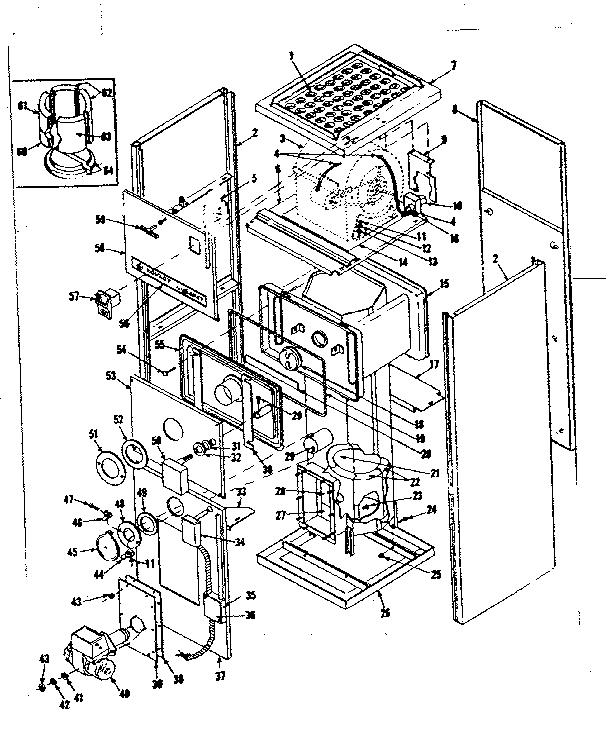 Kenmore model 8676432 heater, kerosene genuine parts