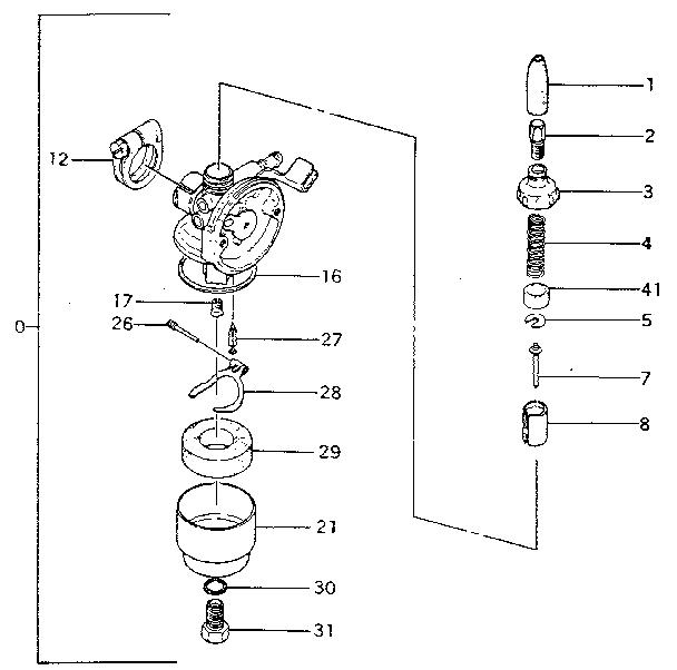 Craftsman model 298586130 boat motor gas genuine parts