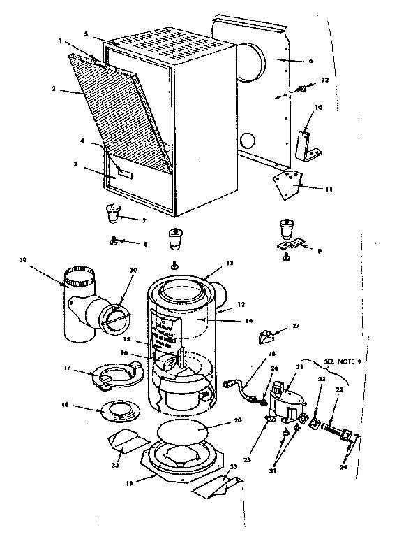 Preway model SVM50C space heaters/wall unit genuine parts