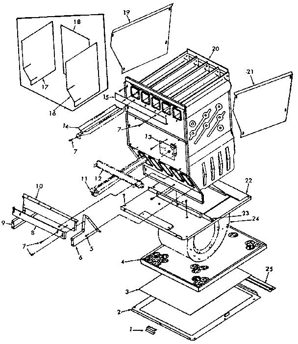 Whirlpool model FXB44-55BR-1 furnace/heater, gas genuine parts
