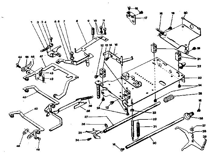 Sears model 60358070 calculator genuine parts