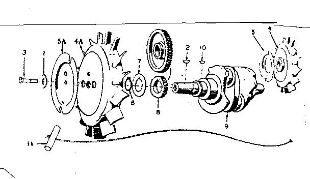 Onan model 6CCK-331E/1887E engine genuine parts