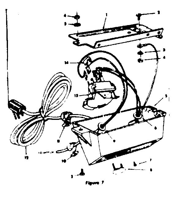 CRAFTSMAN CRAFTSMAN 12-INCH MOTORIZED FLOOR SAW Parts