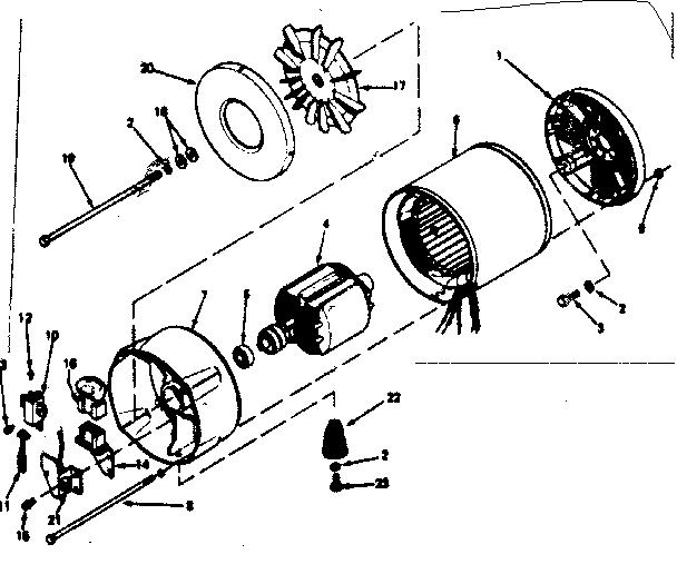 Craftsman model 580321811 alternator genuine parts