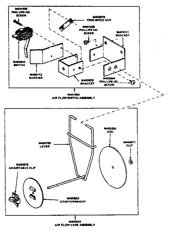 Huebsch model 30EG commercial dryer genuine parts