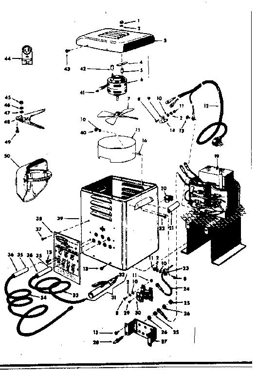 CRAFTSMAN CRAFTSMAN AC ARC WELDER 180 AMP. PORTABLE Parts