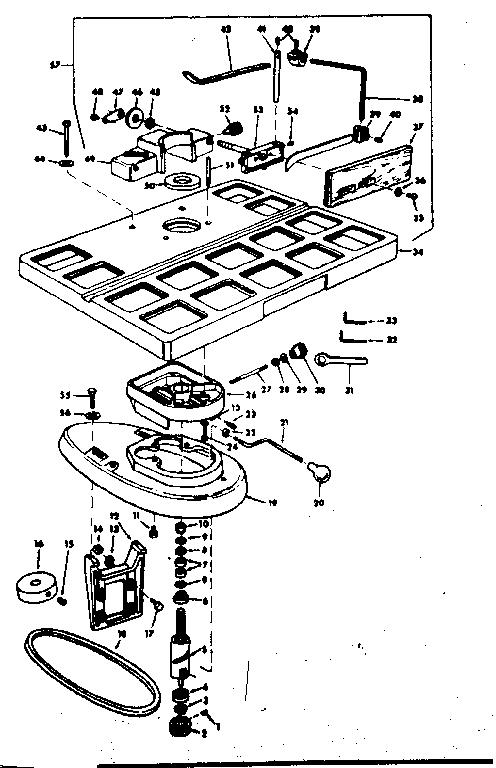Craftsman model 11323940 planer genuine parts