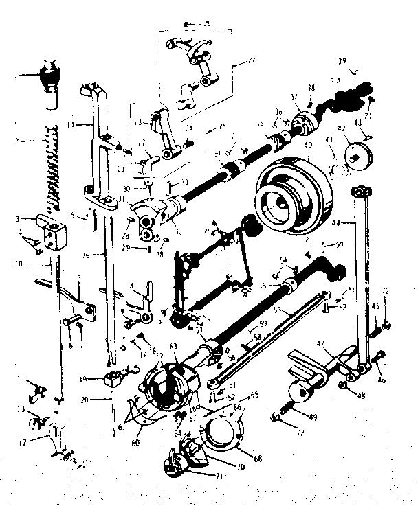 Kenmore model 15813010 mechanical sewing machines genuine
