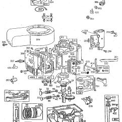 Echo Leaf Blower Parts Diagram Ez Lock Wiring Briggs & Stratton 11 Hp. Engine | Model 253707041101 Sears Partsdirect
