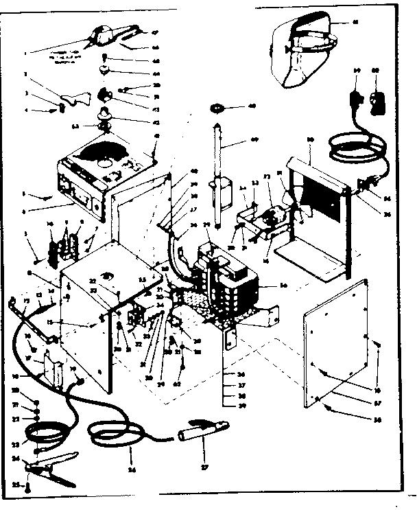 Craftsman model 11320242 welder genuine parts