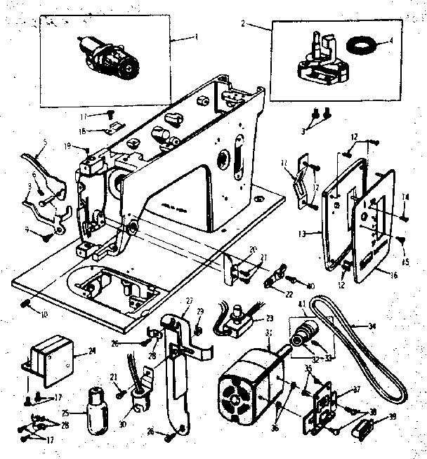 Kenmore model 15817501 mechanical sewing machines genuine