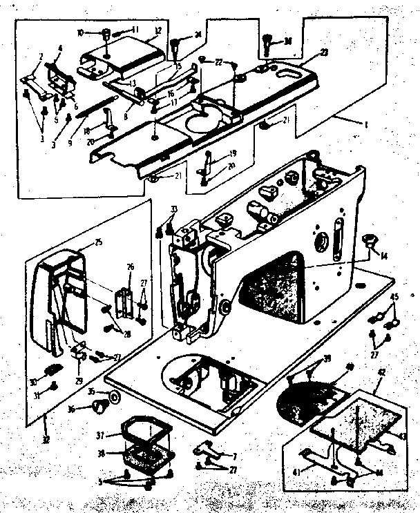 Kenmore model 15817520 mechanical sewing machines genuine