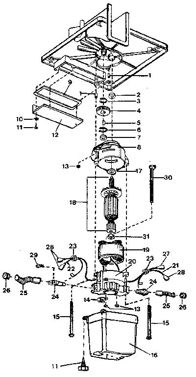 Craftsman model 833796882 chipper shredder/vacuum, gas
