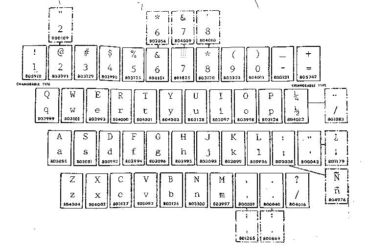 Sears model 87153910 typewriter genuine parts