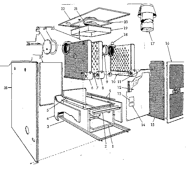 Kenmore model 22996144 water heater genuine parts