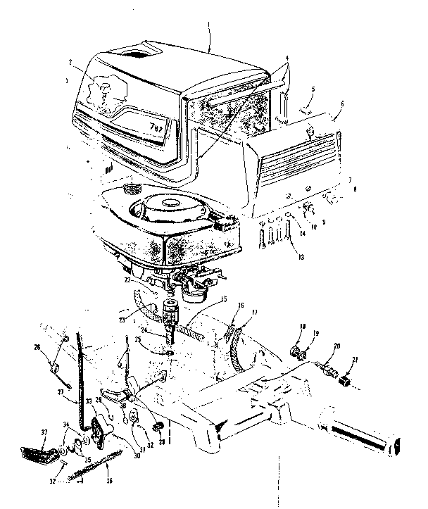 Force Outboard Ignition Wiring Diagram Force Outboard