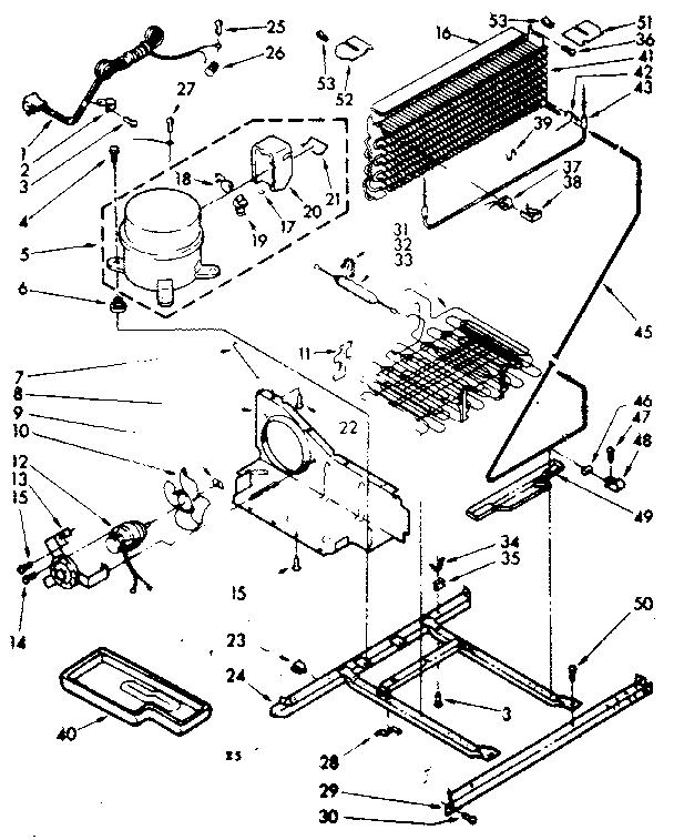 Kenmore model 106.1068130670 top-mount refrigerator