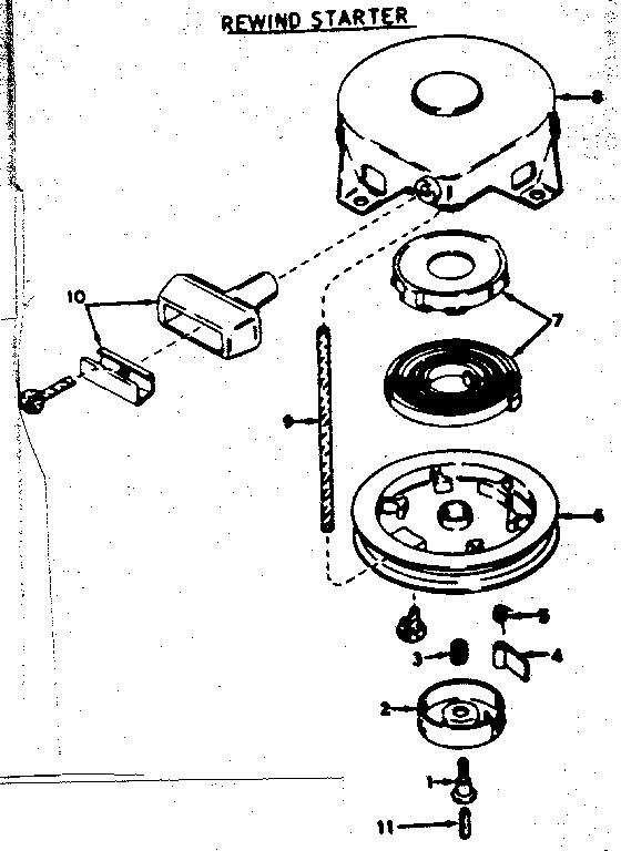 Craftsman model 21758541 boat motor gas genuine parts