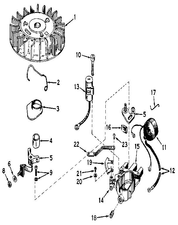 Craftsman model 21758520 boat motor gas genuine parts