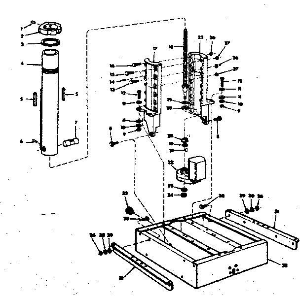 Craftsman model 113190650 saw radial genuine parts