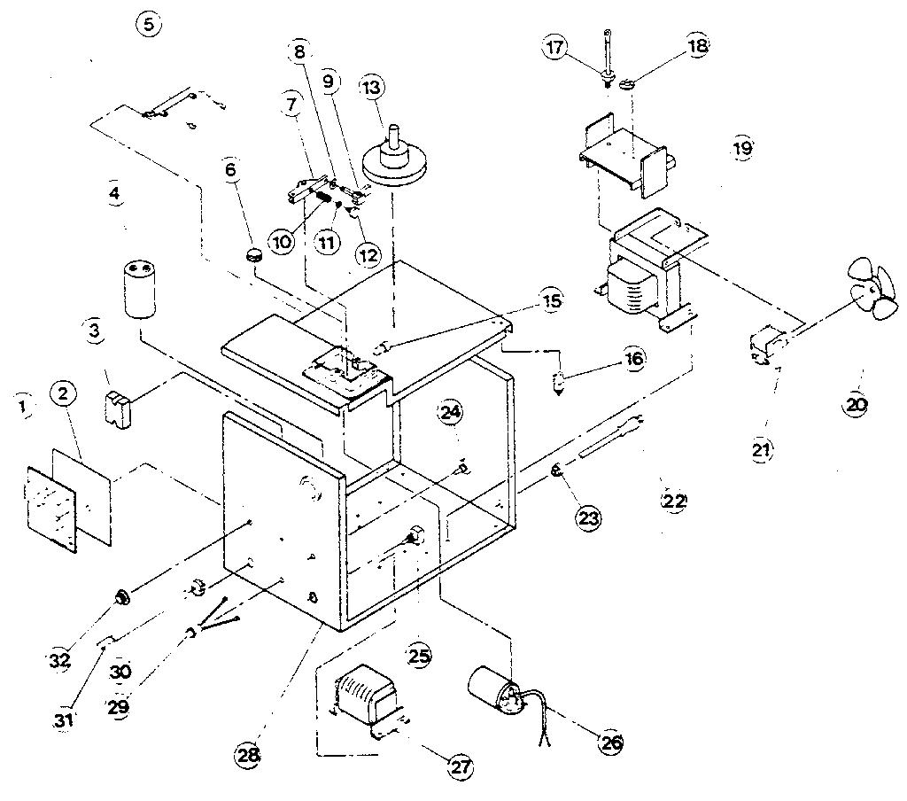 Century model 117-021 welder genuine parts