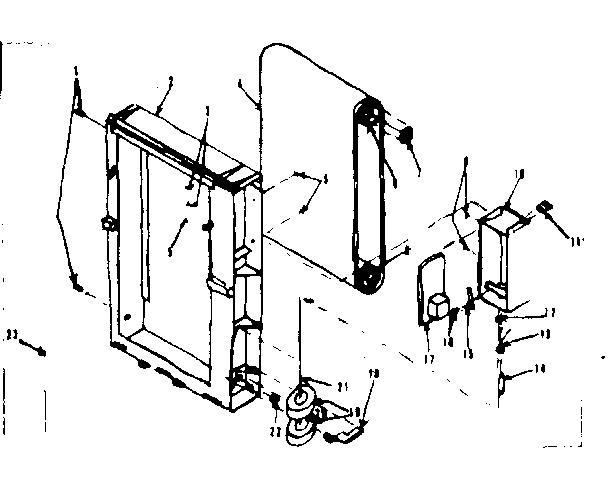 Kenmore model 75872970 humidifier genuine parts