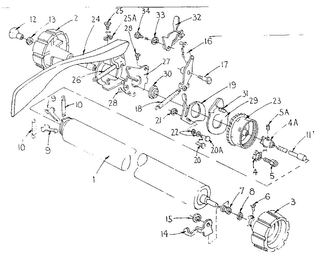 Sears model 8711620 typewriter genuine parts