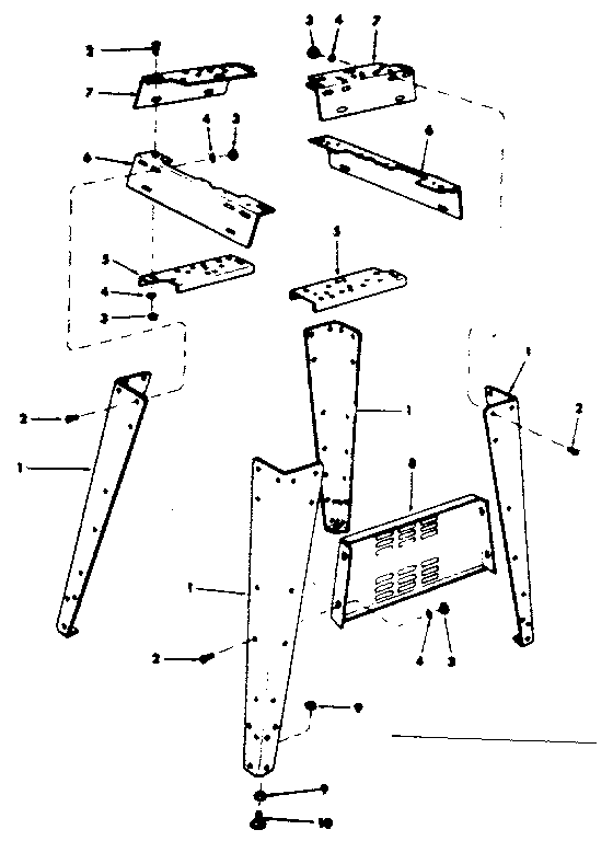Craftsman model 113225930 sander genuine parts