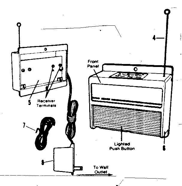 Craftsman model 13953700 garage door opener genuine parts