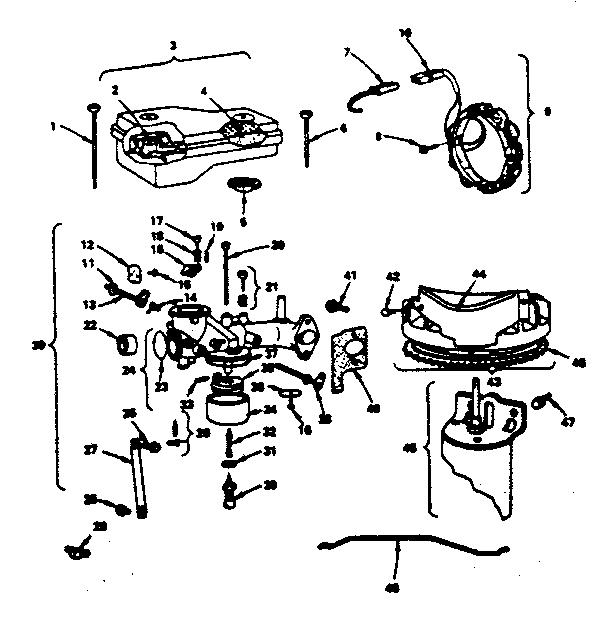 Briggs-Stratton model 220707-0140-01 engine genuine parts