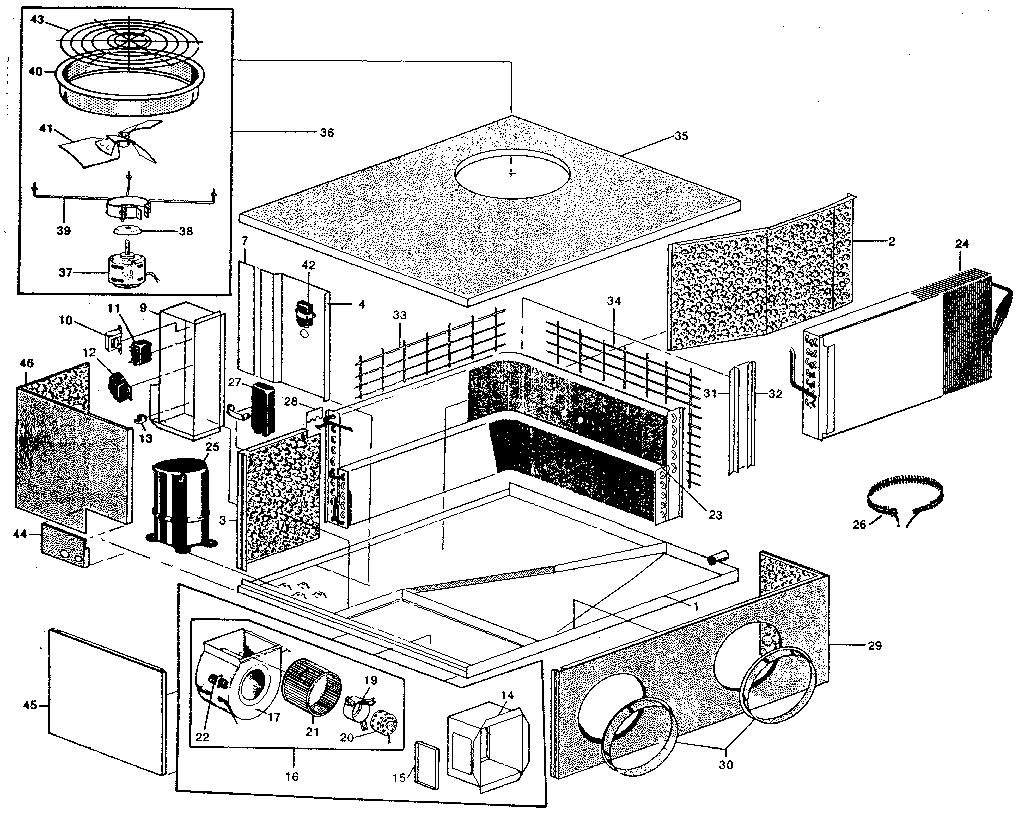 Rheem model SMA air-conditioner/heat pump(outside unit