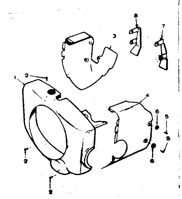 Onan model B48M-GA018 engine genuine parts
