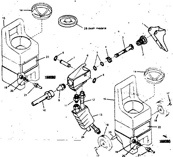 Craftsman model 106168080 impact tool genuine parts