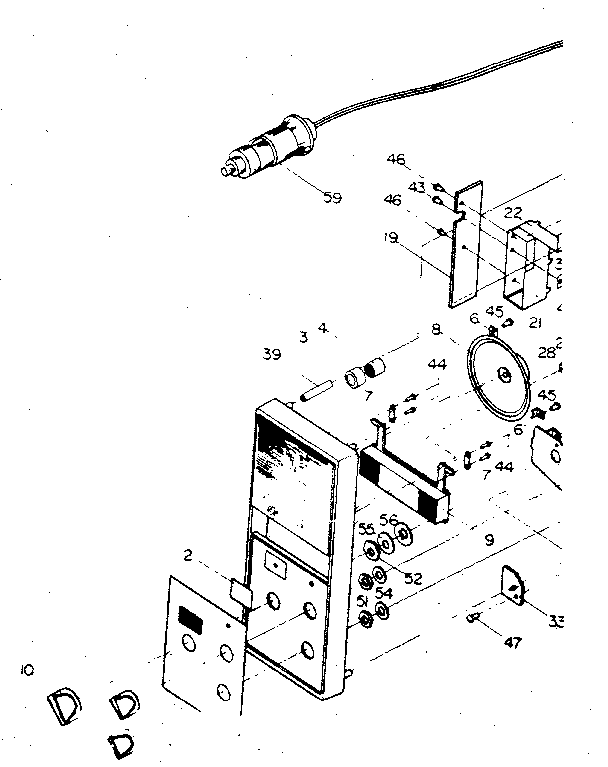 Midland model 77-810 portable audio genuine parts