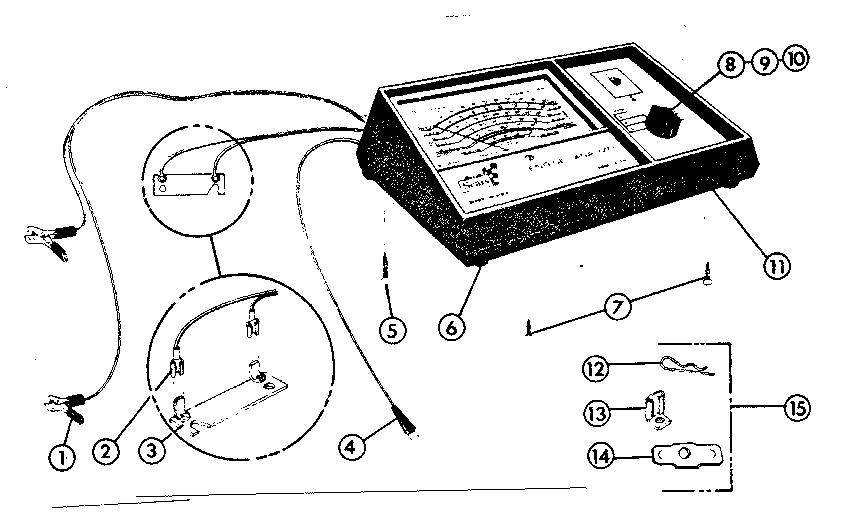 Craftsman model 1612161 analyzer genuine parts