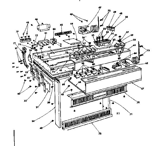 KENMORE KENMORE ELECTRIC CERAMIC COOKTOP DROP-IN RANGE