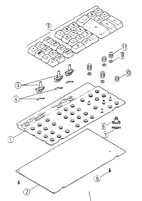 Sears model 27258300 calculator genuine parts