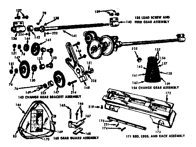 Atlas Metal Lathe Parts