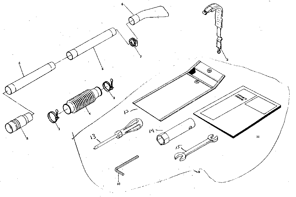 Craftsman Gas Leaf Blower Craftsman 32Cc Leaf Blower 358