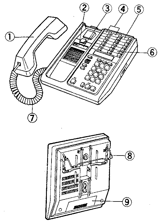 Sears model 32934761550 telephones genuine parts